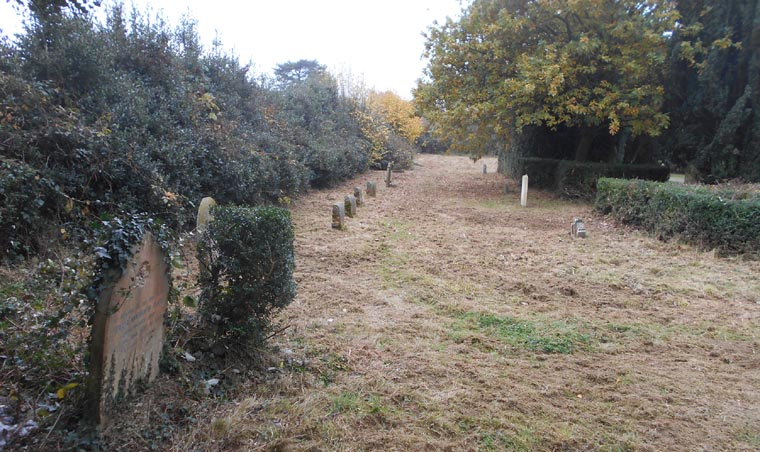 Oakwood Hospital Cemetery M I S Barming Maidstone